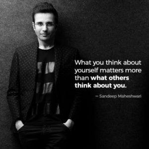 Best motivational quotes by Sandeep Maheshwari