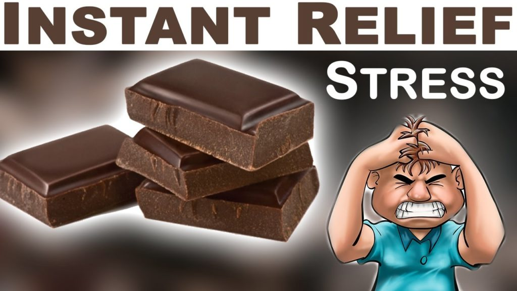 Health benefits of dark chocolate for stress relief
