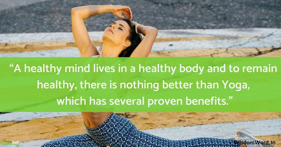 Best Yoga Day Quotes for WhatsApp