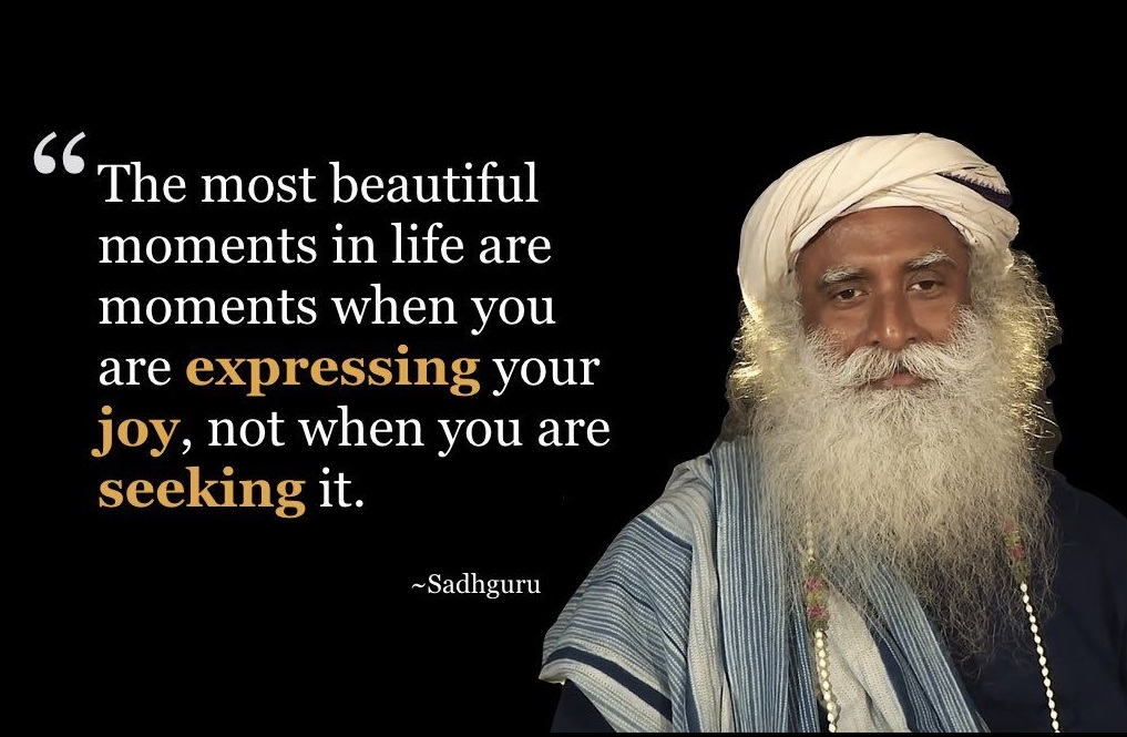 Best Motivational and Siritual Quotes by Sadhguru